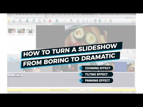 How To Make Still Images Move In VideoPad - Making Boring Slideshow Videos Interesting