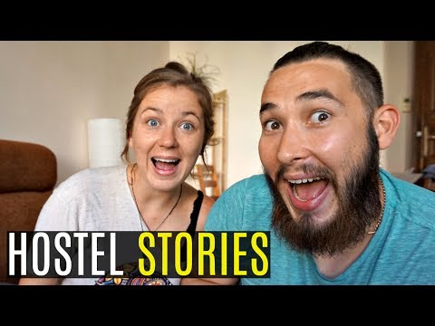 WHAT IT'S LIKE LIVING IN A HOSTEL | Story Time Ep.006
