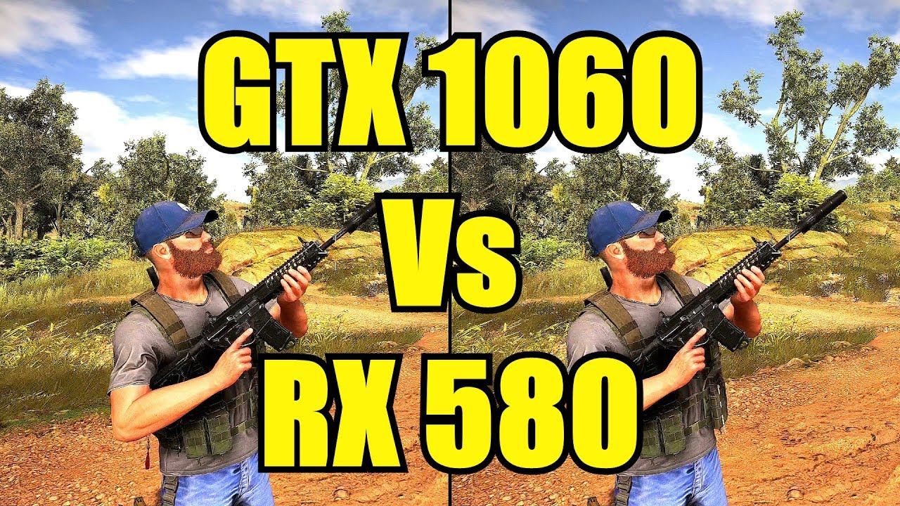 Ghost Recon Wildlands GTX 1060 Vs AMD RX 580 Frame Rate Comparison - YouTube