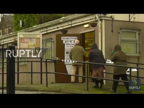 UK: Voting starts in Stoke by-election that could see UKIP's Nuttall trump Labour