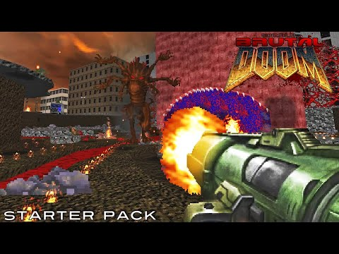 Brutal Doom 2016 Weapons v2 + Starter Pack #2