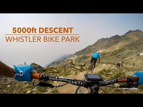 Watch: A 5,000-Foot Descent in the Whistler Bike Park - Singletracks