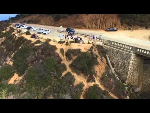 DJI Phantom 3 drone at Bixby Creek Bridge in Big Sur, California (2 of 2)