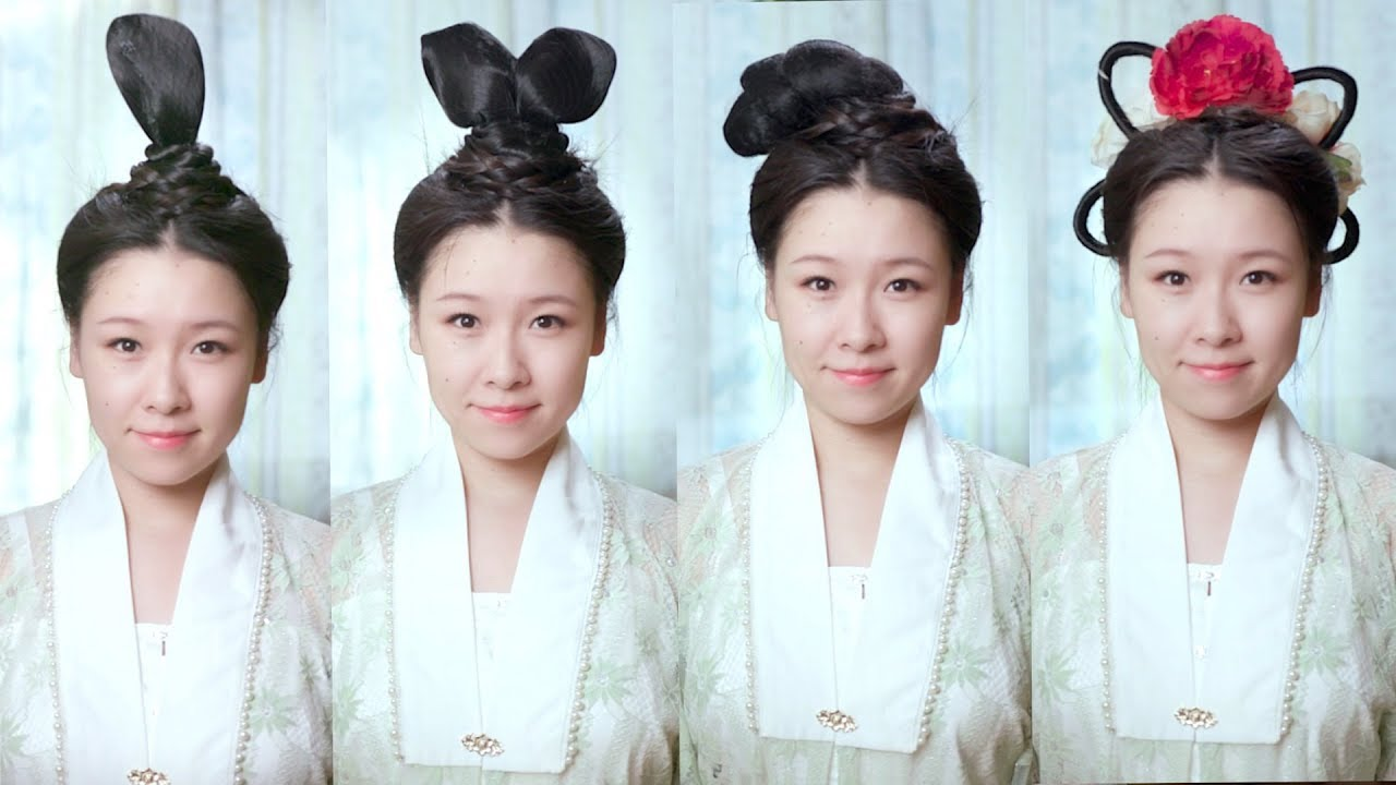 How To Create Ancient Chinese Hairstyles Youtube