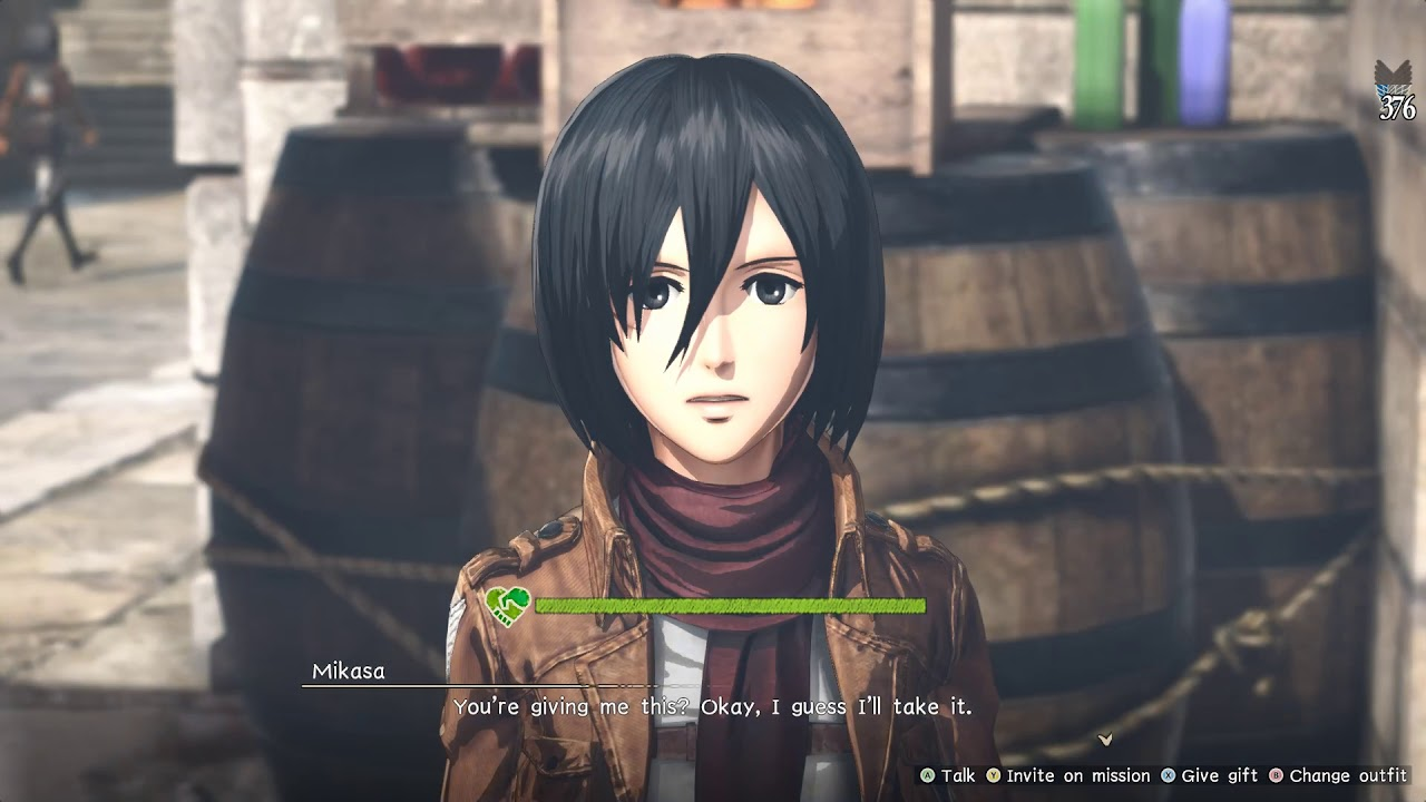 Attack on Titan 2: Gifting list - Whats best for....? - YouTube