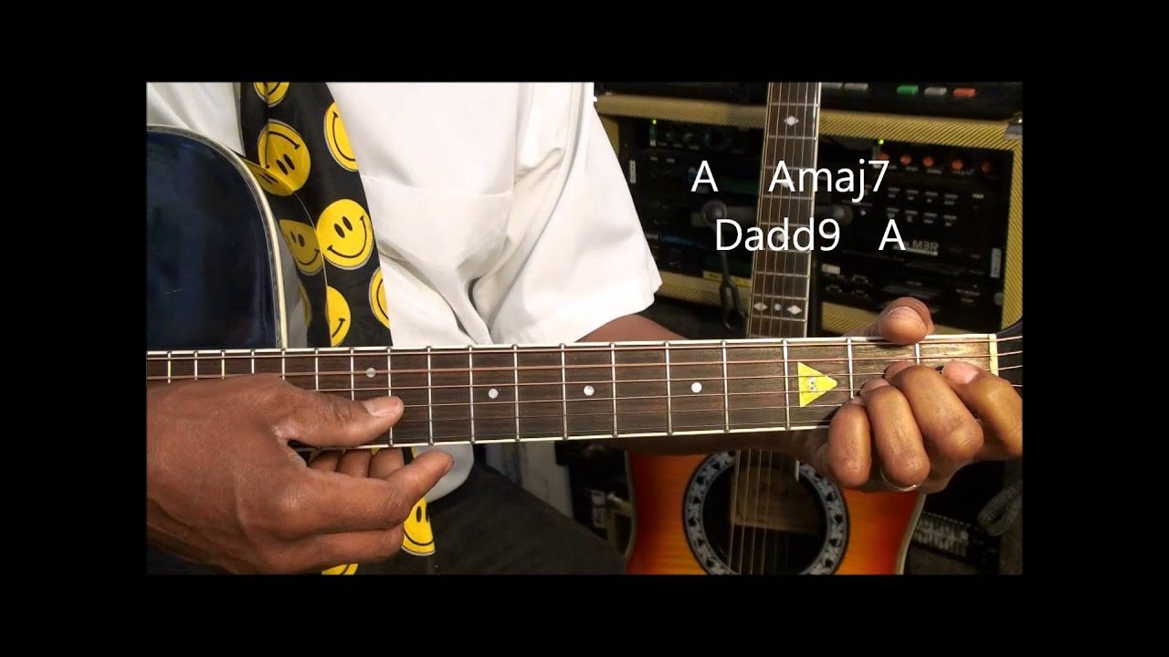 Guitar Chord Form Tutorial 207 Bubbly Style Chord Shapes