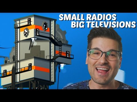 Get Distorted in SMALL RADIOS BIG TELEVISIONS