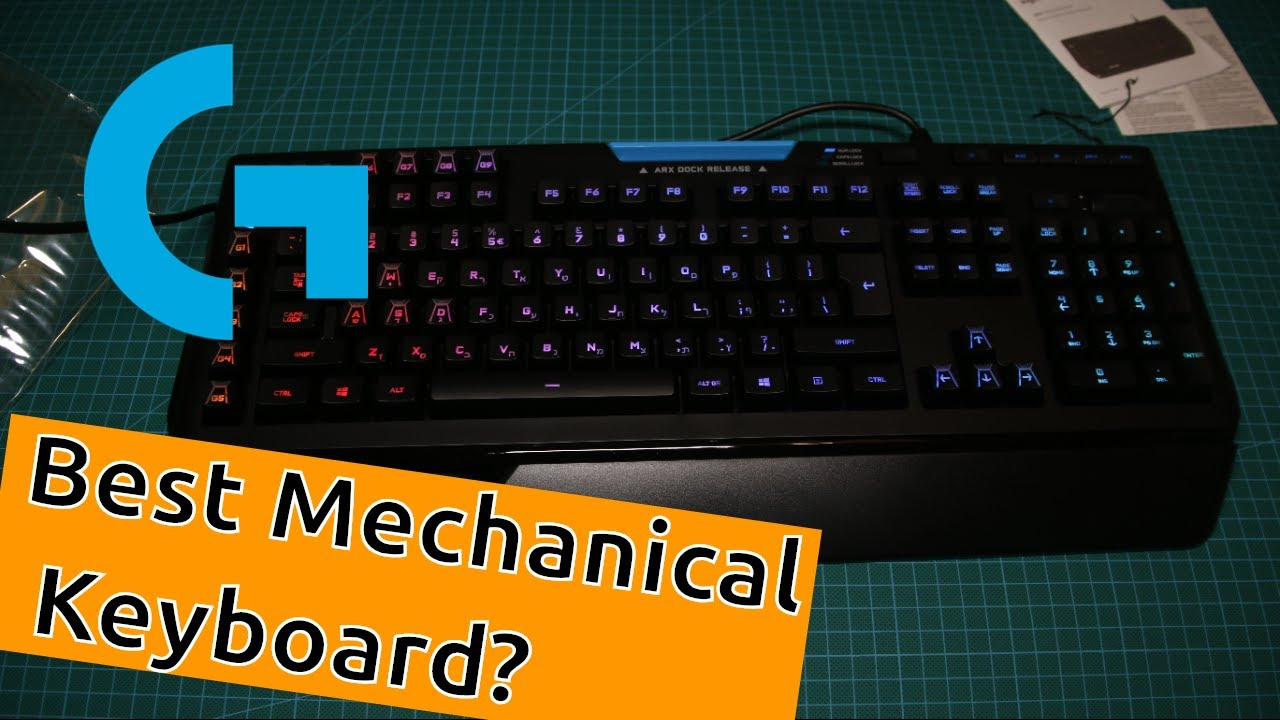 Logitech G910 Orion Spectrum Mechanical Keyboard - Unboxing & First  Impression