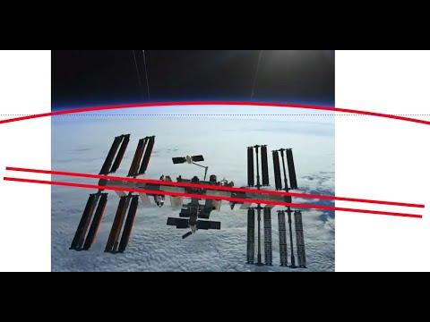 LEGO Estação Espacial . (Terra Plana? NÃO.) - Space Station (Flat Earth? NO.) thumbnail