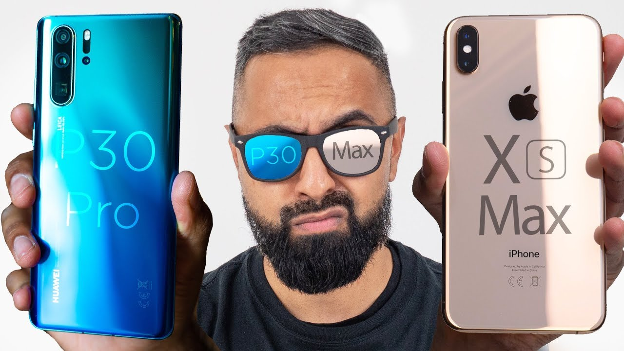 5322f3af7 Huawei P30 Pro vs iPhone XS Max - YouTube