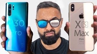 Gambar cover Huawei P30 Pro vs iPhone XS Max