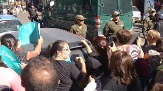 Reconstitución de escena caso Lorena Carrasco