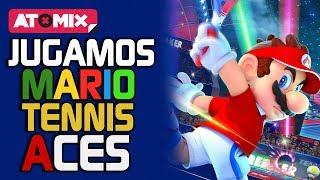 Defa y Rodo vs el Mundo en Mario Tennis Aces