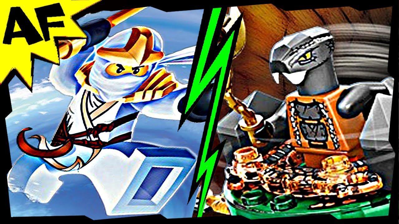 Zane Zx Vs Chokun Lego Ninjago Spinjitzu Battle Amp Stop