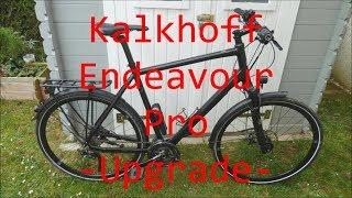Trekkingrad Kalkhoff Endeavour Pro -Upgrade/Neue Anbauteile-