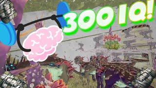 RAIDEO A RATHOLE CON 300 IQ!! ( Server Más Tóxico Ark) | Ark Survival Evolved PS4 Español