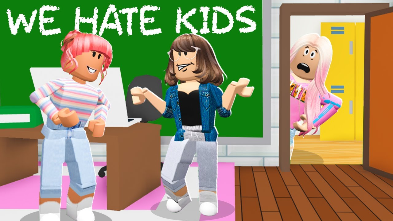 School Was For MEAN TEACHERS Only.. They HATED Kids! (Roblox Adopt Me)