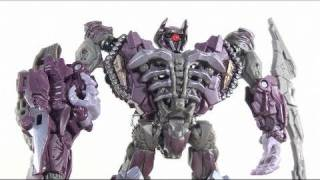 Video Review of the Transformers 3 Dark of the Moon (DOTM) Voyager Class Shockwave