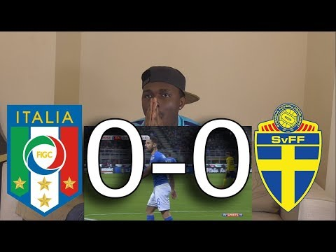 Italy VS Sweden 0-0 Highlights: Reaction