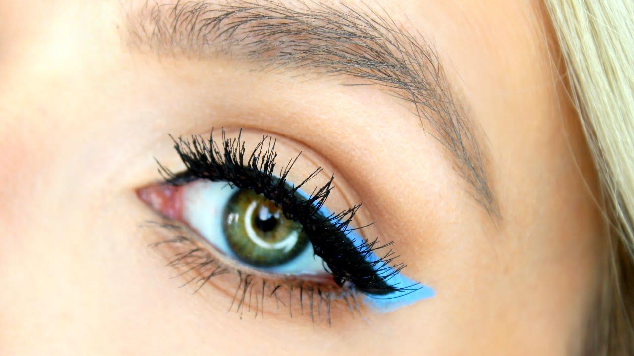 Double Winged Eyeliner Tutorial Spring Makeup Pop Of