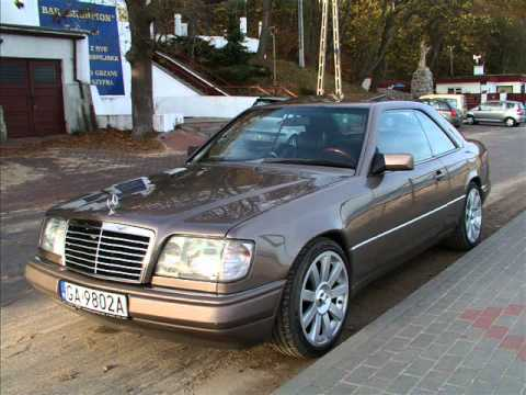 mercedes benz w124 coupe 230ce 39 88 youtube. Black Bedroom Furniture Sets. Home Design Ideas