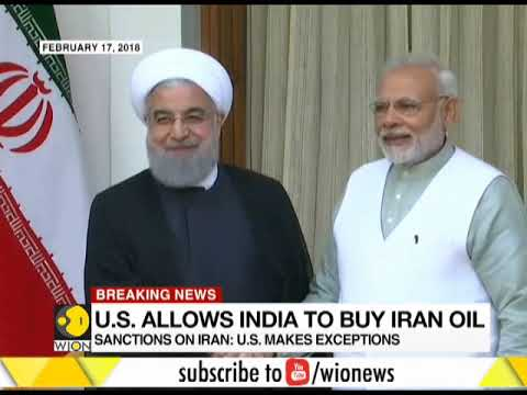 India Among 8 Countries allowed to buy oil from Iran after US sanctions