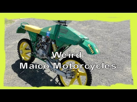 The Top Ten Maico Motorcycles/Dirtbikes You have never heard of!