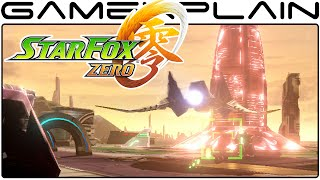 NEW Star Fox Zero - Corneria 2 + Boss Fight Gameplay (60fps Direct Feed w/ Voices)