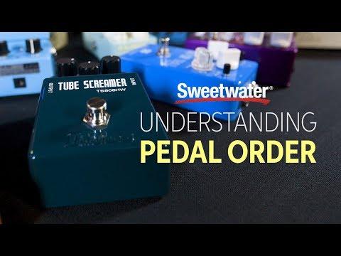 Understanding Pedal Order