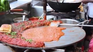 Pav Bhaji - Indian Street Food - Bangalore Food Street