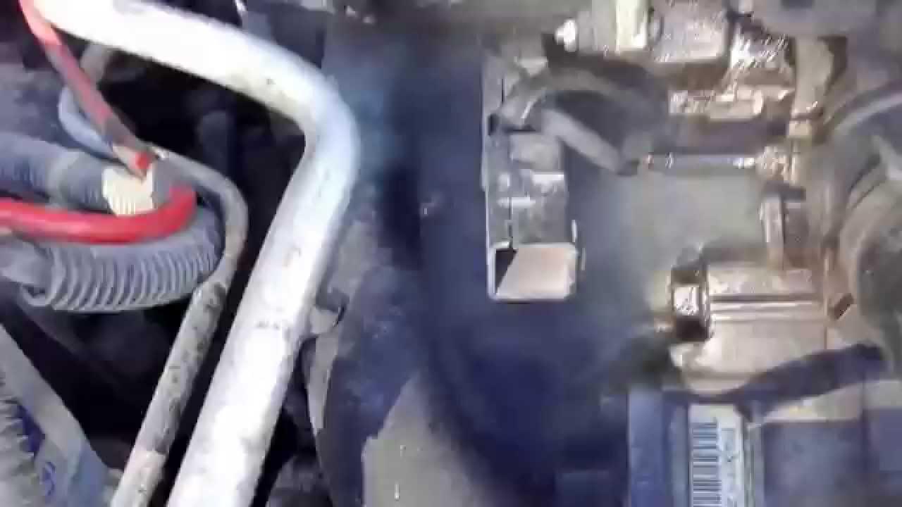 Honda Accord 6 F20B5 лопнул патрубок печки