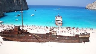 Shipwreck Zakynthos  Cavo Grosso Cruises Navagio Beach