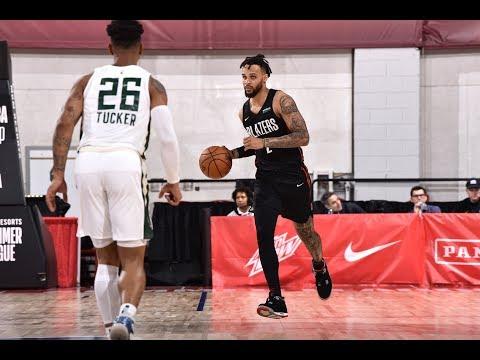 Gary Trent Jr. Torches Bucks For 28 PTS | NBA Summer League