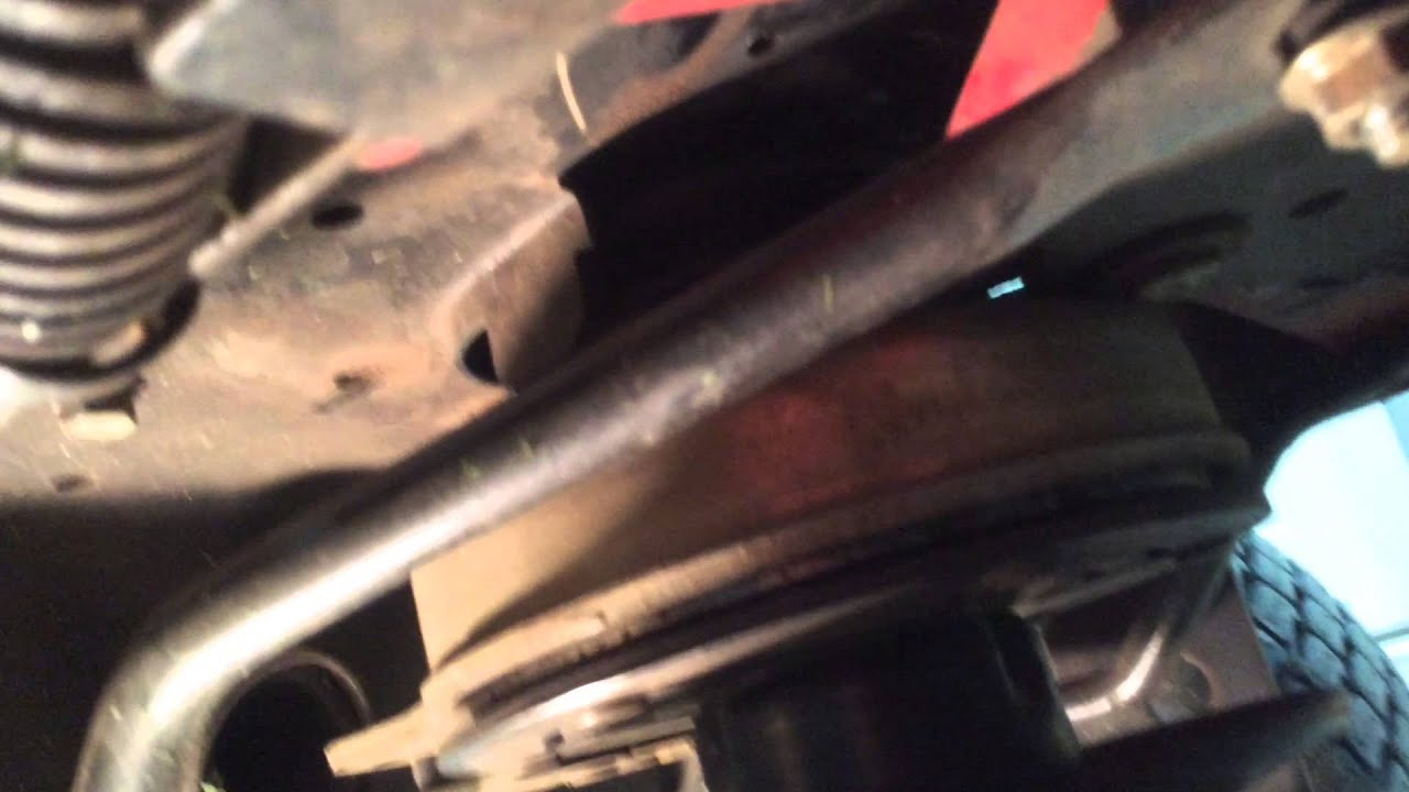 small resolution of toro garden tractor gt2300 drive belt replacement