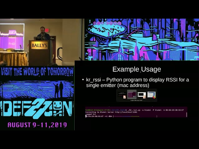 DEF CON 27 Wireless Village - Ted - Are you inteRESTed in Kismet?