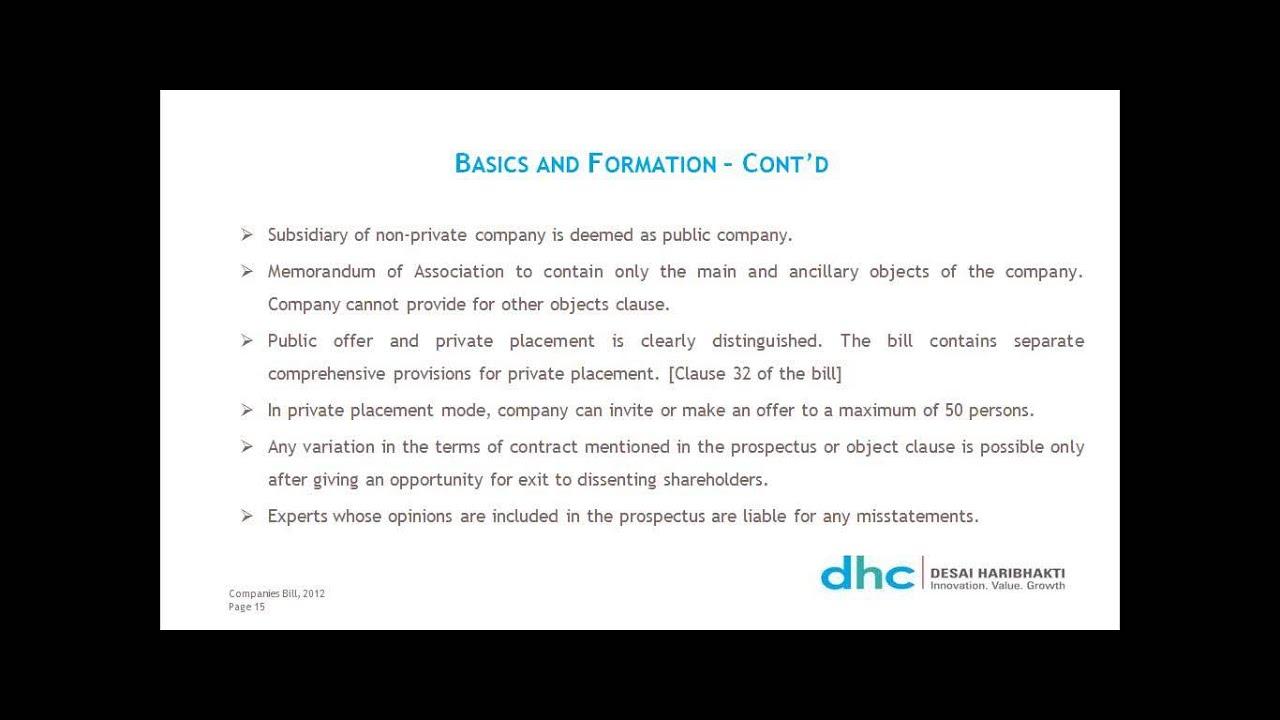 CII Online Master Class on The Companies Bill CSR