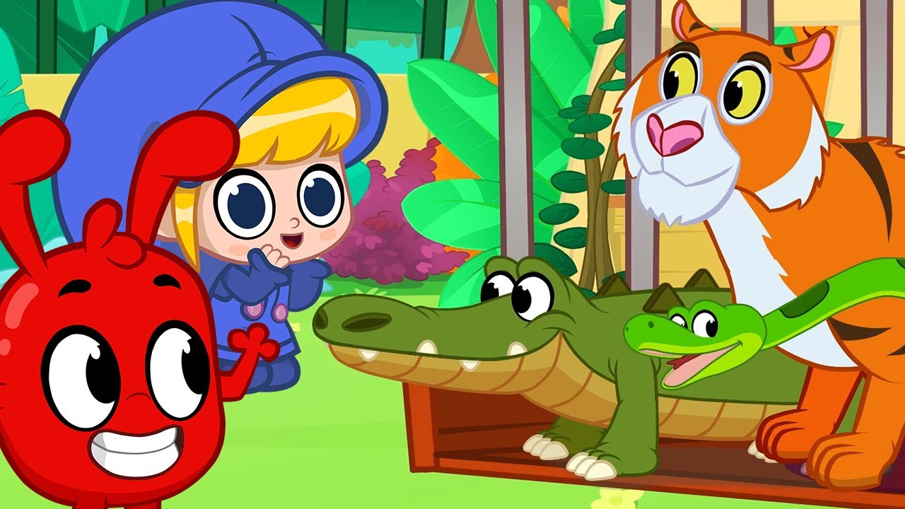 gruseliges tierhaus  karikatur für kinder  kinderlieder