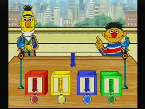 Sesame Street: Bert & Ernie's Imagination Adventure V.Smile Playthrough