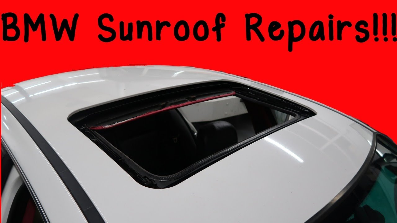 How To Fix Common BMW E46 Sunroof Problems!  YouTube