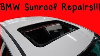 How To Fix Common BMW E46 Sunroof Problems!