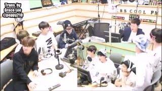 [ENG SUB] 150522 BTS 방탄소년단 GAYO PLAZA KBS COOL FM (3/4)