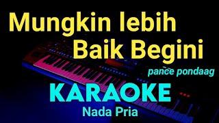Download lagu Walau hati menangis ( nada pria ) - PANCE PONDAAG - KARAOKE TEMBANG KENANGAN