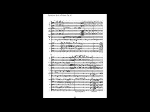 Tchaikovsky - Symphony No. 4 (Score)