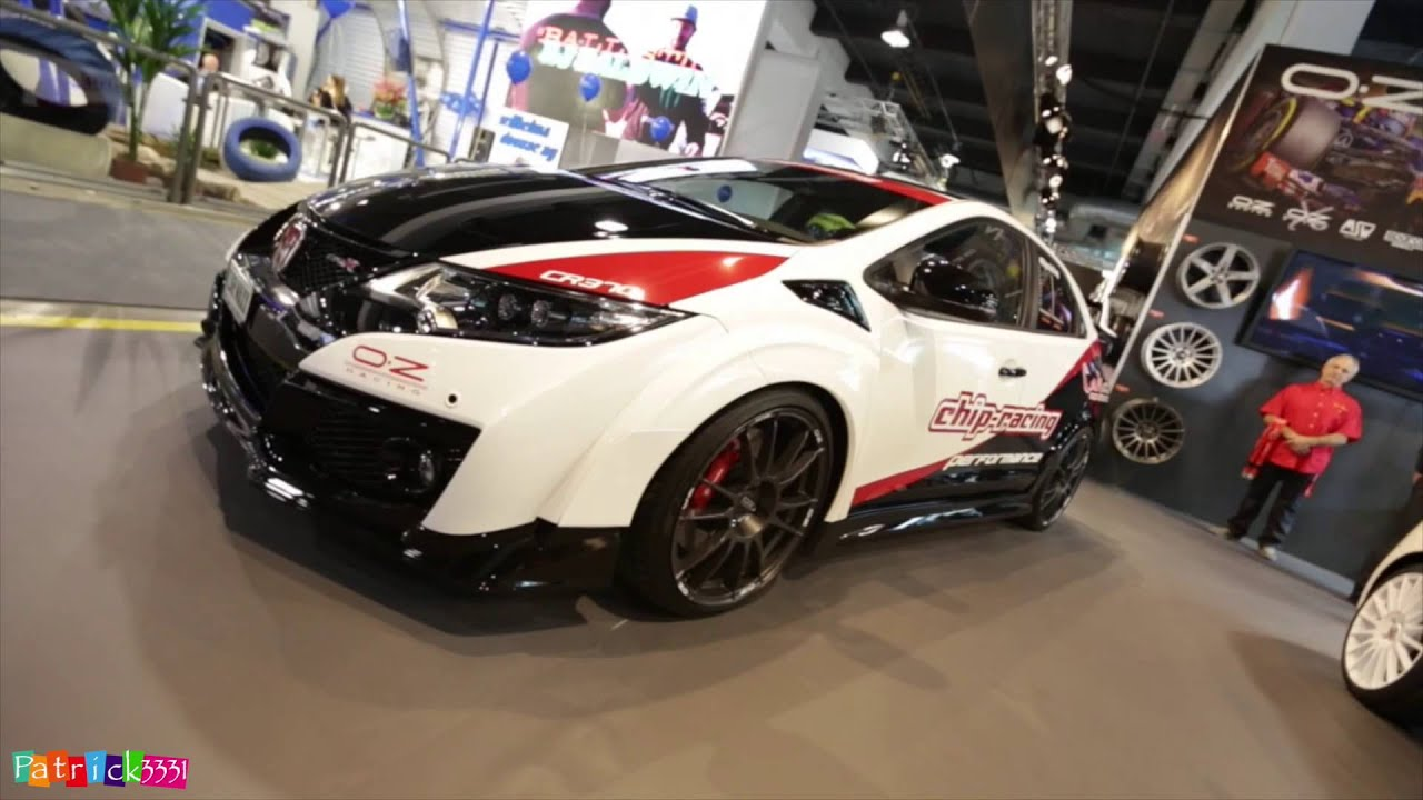 370 ps honda civic type-r (484nm) at auto zürich 2015