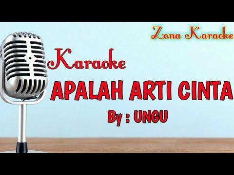KARAOKE APALAH ARTI CINTA (UNGU)