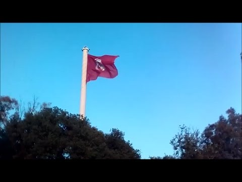 Highest Tunisian flag belvedere