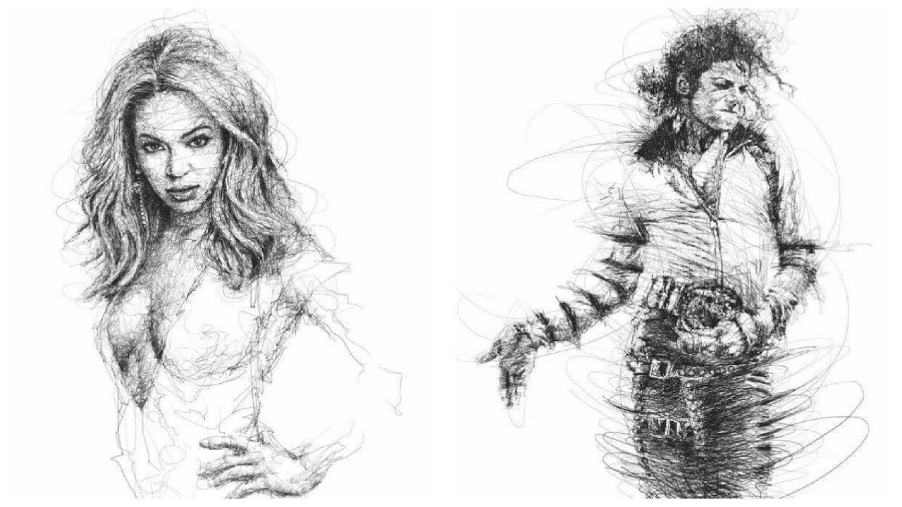 Expressive Ballpoint Pen Drawings by Malaysian Artist Vince Low 2 ...