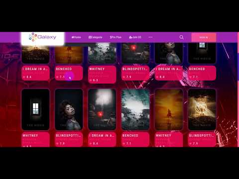 Galaxy Online Movies,TV Shows&Cinema HTML Template Bootstrap
