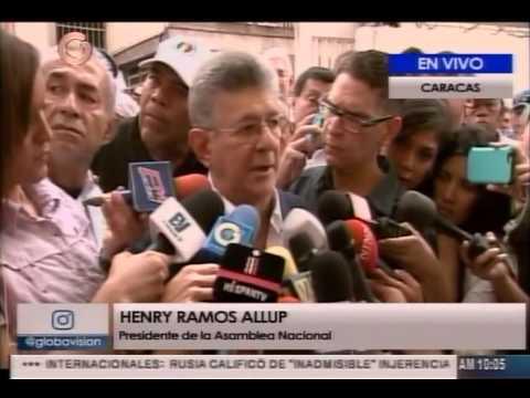 Ramos Allup no irá al Consejo de Defensa de la Nación (Codena), tampoco habrá diálogo