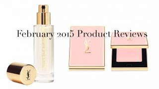 Sali Hughes: February 2015 Product Reviews